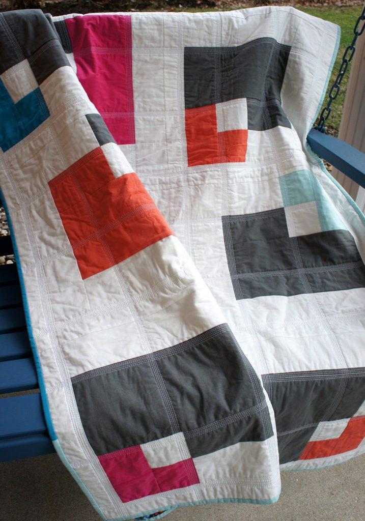 open squares quilt