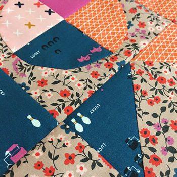 Sister sampler quilt